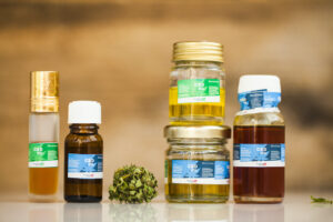 cannabis product oil